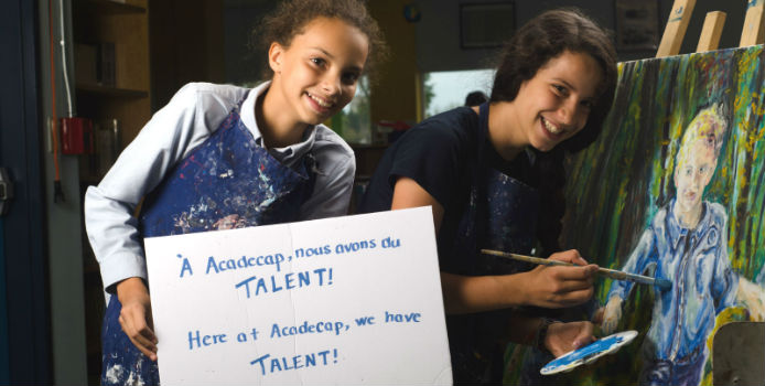 Here at AcadeCap, we have talent!