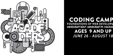 AcadeCoders 2017: Minecraft EDU, Web Development, Minecraft Pi & Hackathon